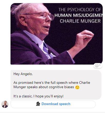 chatbot copywriting