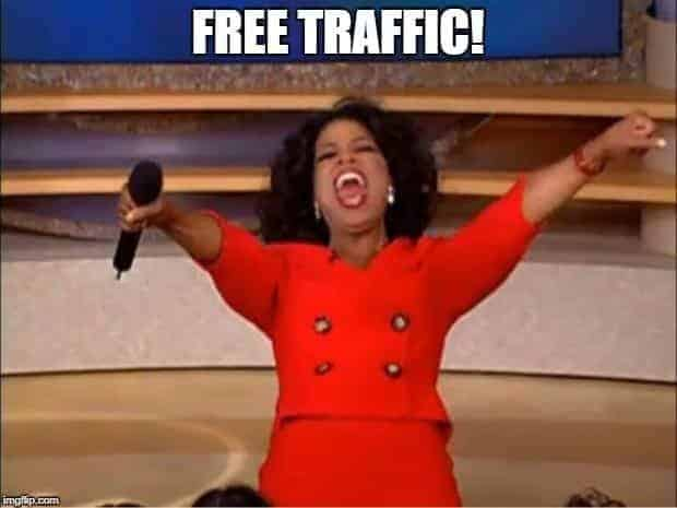 free web traffic meme