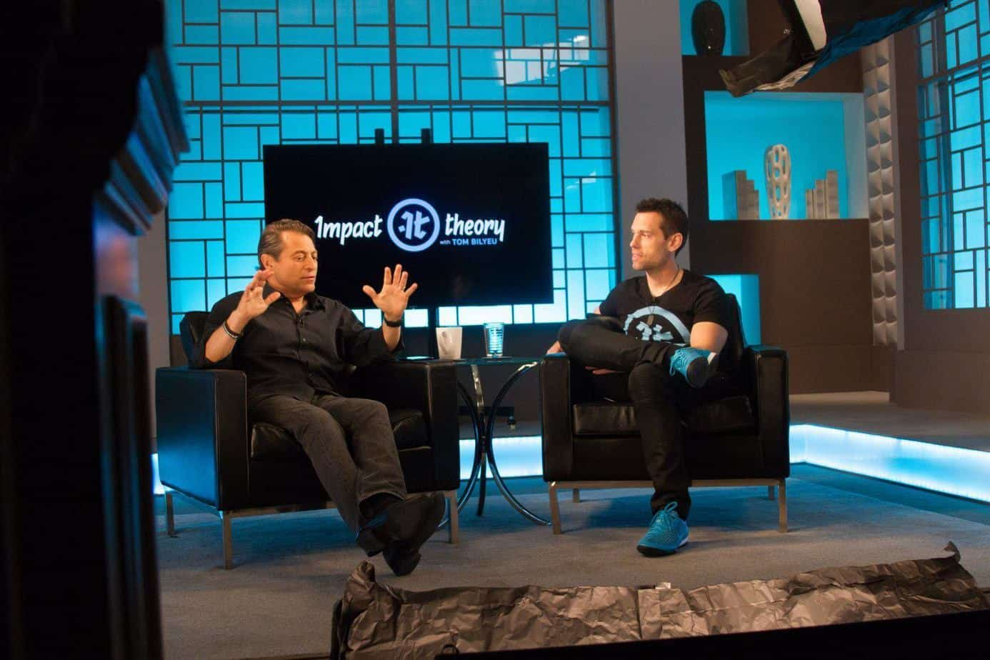 tom bilyeu peter diamandis