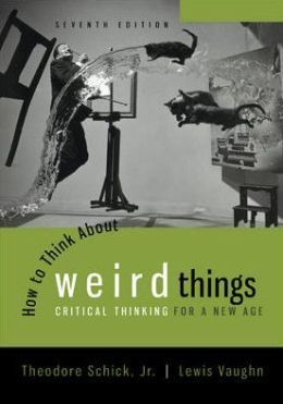 how to think about weird things
