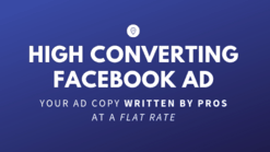 facebook ad copy