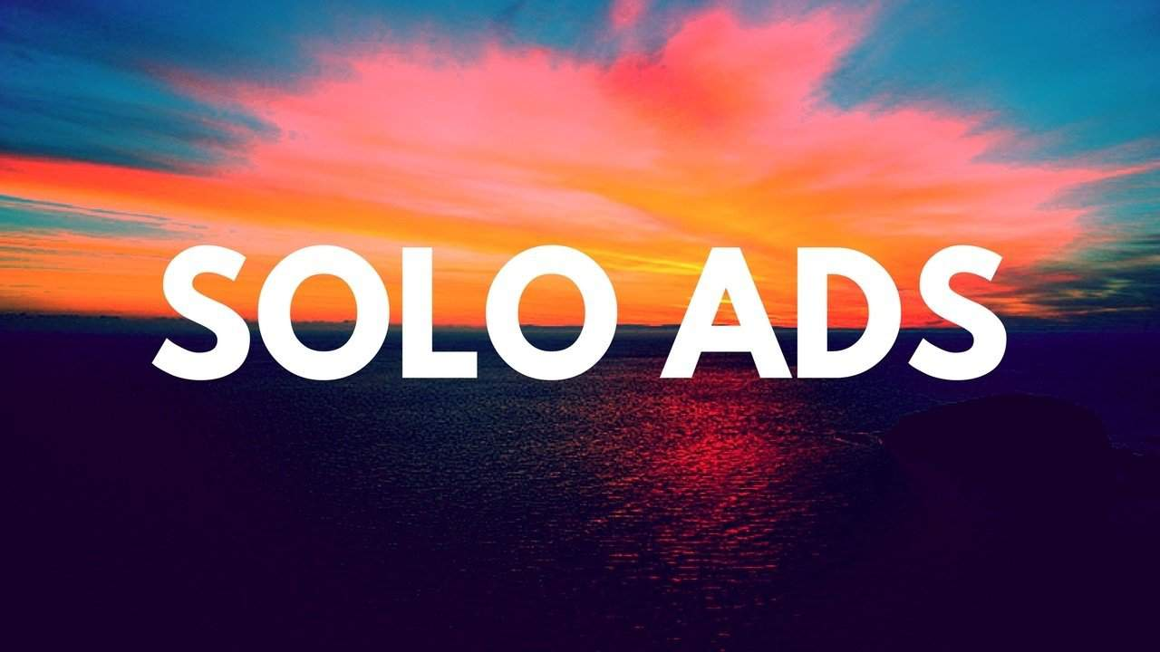 what is a solo ad
