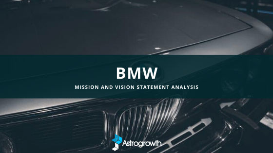bmw mission statement