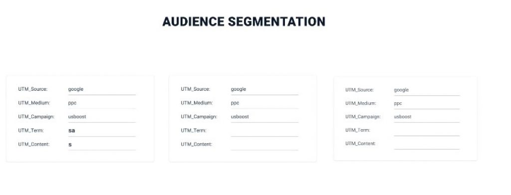 instapage audience segmentation